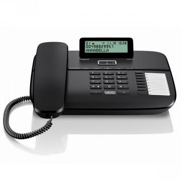 Gigaset DA710 telefono analogico con presa cuffia nero