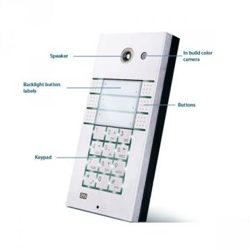 Citofono VoIP 6 tasti tastiera e videocamera 2N Helios IP Helios