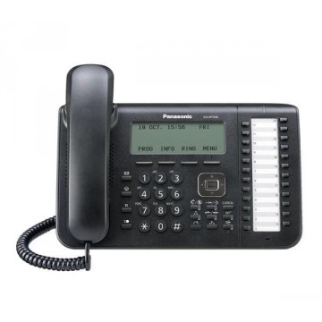 Panasonic kx-nt546NE Telefono IP specifico colore nero