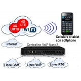 Centralino VoIP ALLO Nano2 IPPBX ibrido