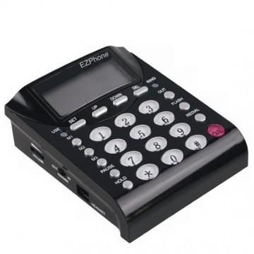 Telefono fisso per cuffia telefonica