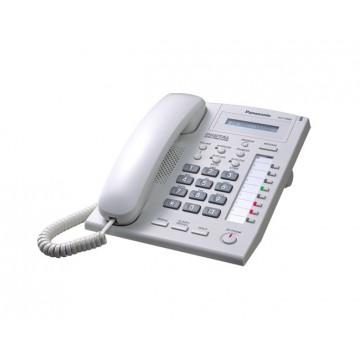 Telefono Panasonic KX-T7665 bianco ricondizionato