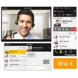 Bria 4 softphone desktop client Windows
