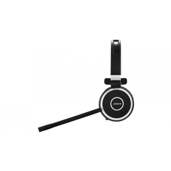 Jabra Evolve 65 Uc Mono Wireless Headset With Jabra Link: Cuffia Ottimizzata Ms Lync USB Wireless Evolve 65 Jabra