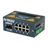 Red Lion Switch 509FX barra DIN, fibra ST
