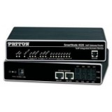 Patton SmartNode Dual FXS VoIP GW-Router; 2x10/100baseT, H.323 and SIP, External UI power.