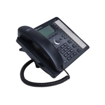 AudioCodes 430HD IP-Phone PoE Black 6 lines Including 2nd Eth port for PC, 18 Progra,LCD Dysplay PoE