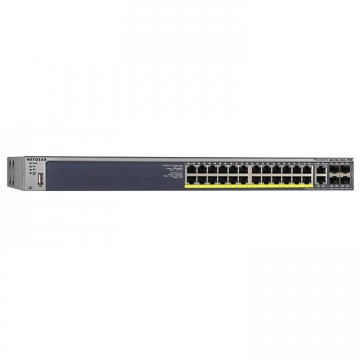 Netgear ProSafe Managed Layer2+ Switch Gigabit modello M4100-26G-POE, 24 porte 10/100/1000