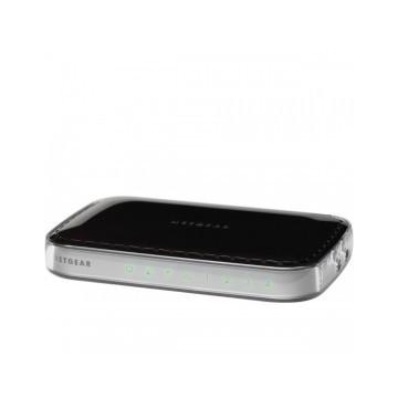 Netgear Router con access point Wireless-N 150 Mbit a 2,4 GHz, 4 porte LAN 10/100 ed 1 porta WAN a 1