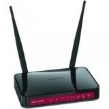 Netgear Router broadband con access point Wireless-N 300 Mbit a 2,4 GHz, 4 porte LAN 10/100 ed 1 por