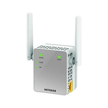 Netgear Wifi Range Extender Dualband AC 750Mit Essentials - Dispositivo per lestensione del segnale
