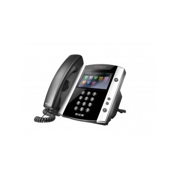 Polycom VVX600 Skype for Business Edition- 16-line Phone - alimentatore non incluso