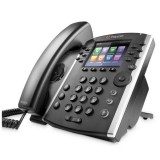 Polycom VVX 410 Skype for Business Edition, 12linee, HD,Gigabit,PoE - non include aliment.