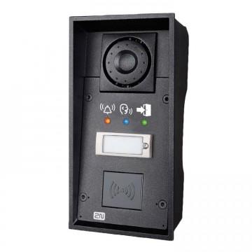 2N Helios IP Force 1 tasto, pictograms supporta card reader