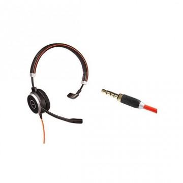 Jabra Evolve 40 mono solo cavo jack 3,5 mm (no USB)