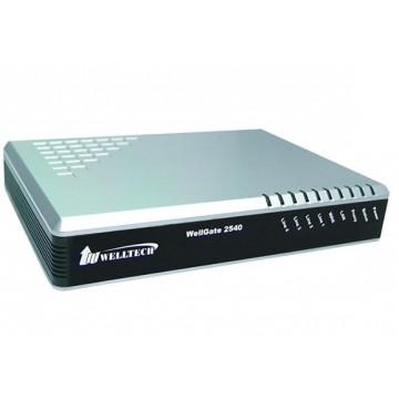 Welltech WellGate 2540A 4 porte fxo PoE gateway