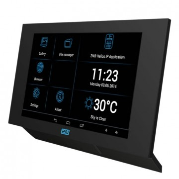 2N Indoor touch con WiFi e PoE nero