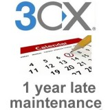 3cx Pro 4SC 1 year late maintenance