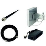 Huaptec Hi-13EW ripetitore di segnale GSM UMTS (900 2100 MHz) 500 mq