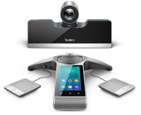 Yealink VC500 video conferenza full HD 2 monitor con microfoni aggiuntivi