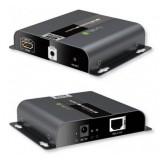 Extender HDMI 4k 120m su cavo cat6 HDbit PoE