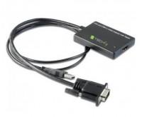 Convertitore da VGA e Audio USB a HDMI