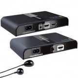 Extender HDMI HDbitT Powerline Splitter 1x4 Full HD con IR