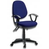 Sedia da Ufficio Delux Colore Blu