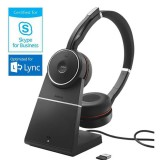 Jabra Evolve 75 MS Duo con base ricarica e Link 370