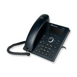 Audiocodes 420HD IP-Phone PoE  and ext ps Black2 lines, 2nd Eth, 4 Prog keys, 128x48