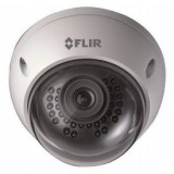 "FLIR Visible IP Mini V.Dome, 4MP Quad HD @ 20fps, 1/3"" CMOS, 2.8mm fixed lens, 100°(H), 90ft/27m IR Range"