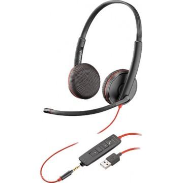 Plantronics Blackwire C3225 USB-A stereo 209747-201