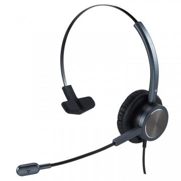 Cuffia con microfono N.C. Ezlight 901 mono black