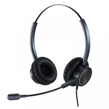 Cuffia con microfono N.C. Ezlight 901 DUO black