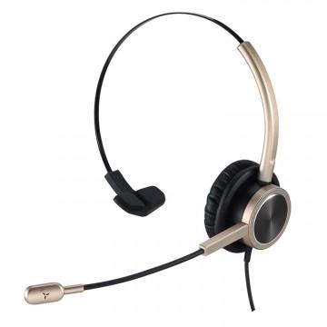 Cuffia con microfono N.C. Ezlight 901 mono Gold