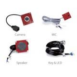 Kit audio video per sportelli totem colonnine Fanvil PA2 kit