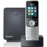 Yealink DECT-IP W53P Single Cell Base Station e Cordless W53H: 8 chiamate, 8 account