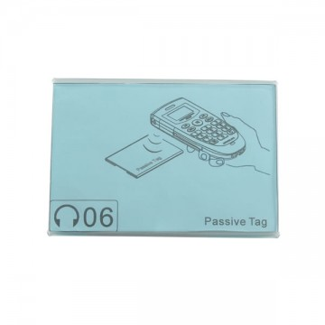 Porta cartellini indicatori e TAG RFID per audioguide