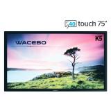 WeTouch K5-75-40T-4K monitor interattivo