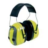 3M PELTOR Optime Push To Listen Cuffie protettive, 31 dB, alta visibilità, bardatura temporale, MT155H530A-489-GB