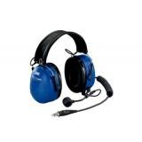 3M PELTOR Auricolare EX singolo ascolto, 33 dB, spina mono da 3,5 mm, montato su casco, HTM79P3E-50