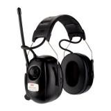 3M PELTOR Cuffie radio DAB+ e FM, 31 dB, bardatura temporale, HRXD7A-01