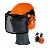 3M 300 Cuffia protettiva, 28dB, con attacco per elmetto, arancione, H31P3E 300