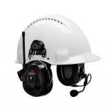 3M PELTOR WS ALERT XP, attacco per elmetto, nera, 30 dB, Bluetooth®, MRX21P3E2WS6