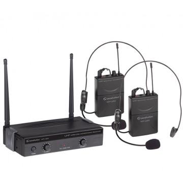 Kit 2 radiomicrofoni WF-U24PP UHF 863-865