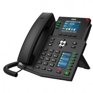 Fanvil X4U telefono IP 2 porte Gigabit PoE, USB
