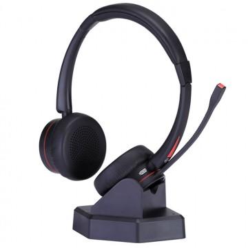 Cuffia bluetooth stereo con base di ricarica M890SB