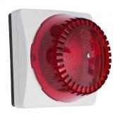 Avvisatore luminoso IP Algo 8128 rosso audio alerter