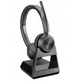 Poly Savi 7220 cuffia wireless duo con microfono antirumore