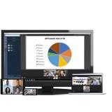 Videoconferenza cloud EzMeeting 50 partecipanti